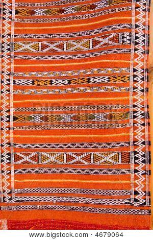 abstrakt Details marokkanischer Teppich