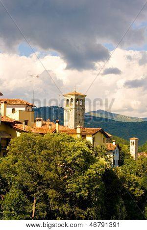 Bell Tower Of Monastero Di Santa Maria In Valle, Cividale Del Friuli