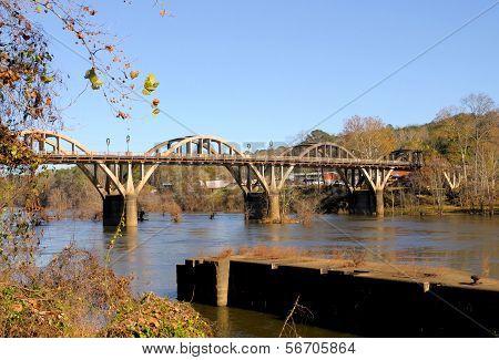 Bridge in the Winter
