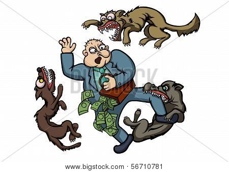 Bad Man And Angry Dogs
