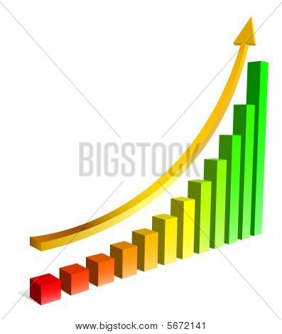 Upgrowing 3D graph