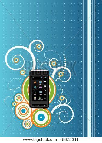 Teléfono celular en Resumen Antecedentes