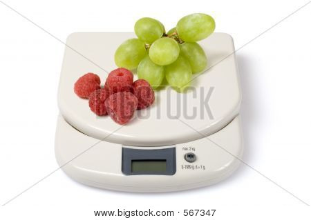 Scale & Fruits