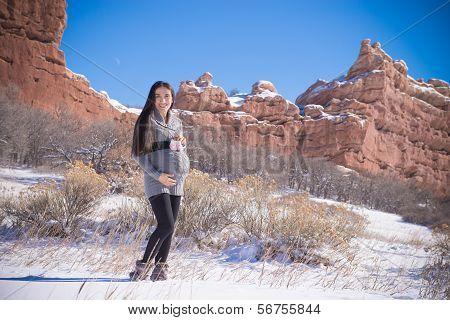 Pregnant Snow