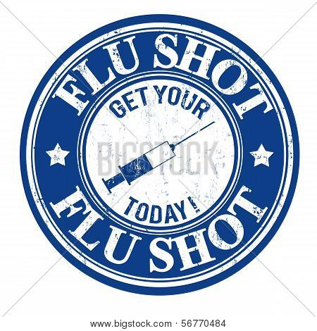 Flu Shot Stamp
