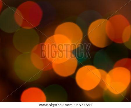Blur Effect The Warm Lights