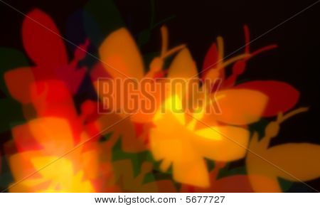 Abstract Blur Effect Lights
