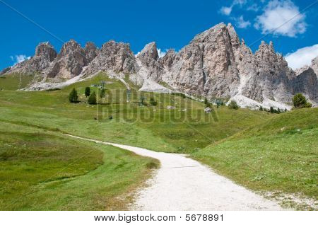 Cir Group, Dolomites, Alps, Italy