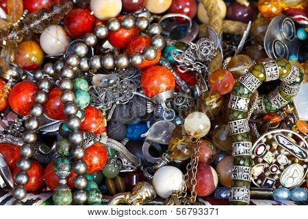 Background From Antique Jewelry