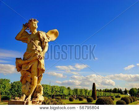 Statue of Zephyr.