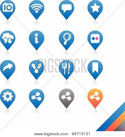 Social Media Icons Vector - Simplicity Series