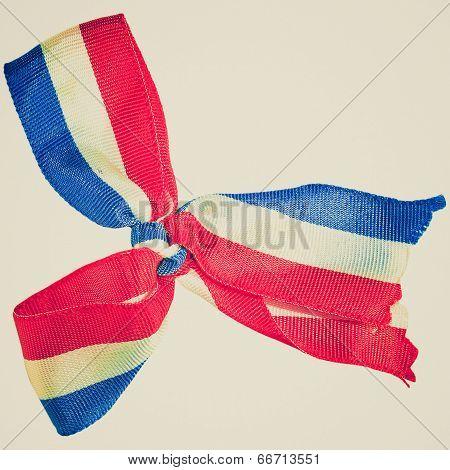 Retro Look National Flag