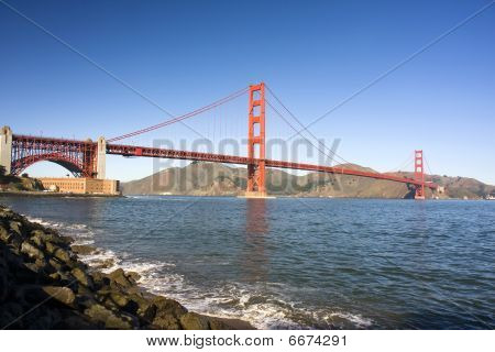 Golden Gate Bridge Span