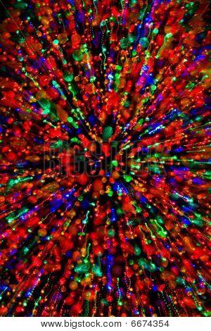 Color Burst At Christmas