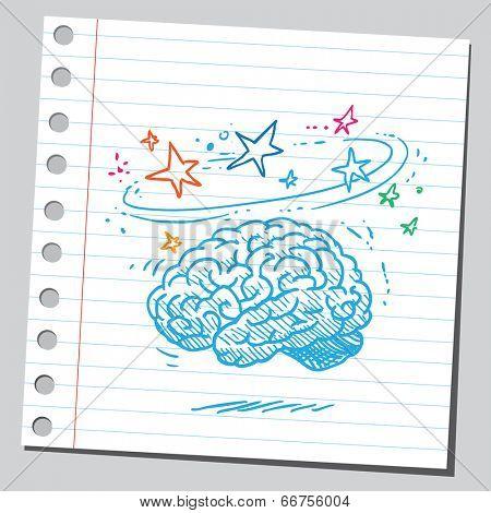 Dizzy brain
