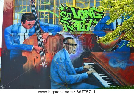 Mural downtown Halifax
