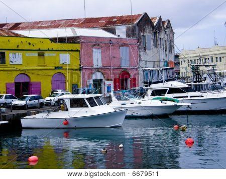 Bridgetown cityscape