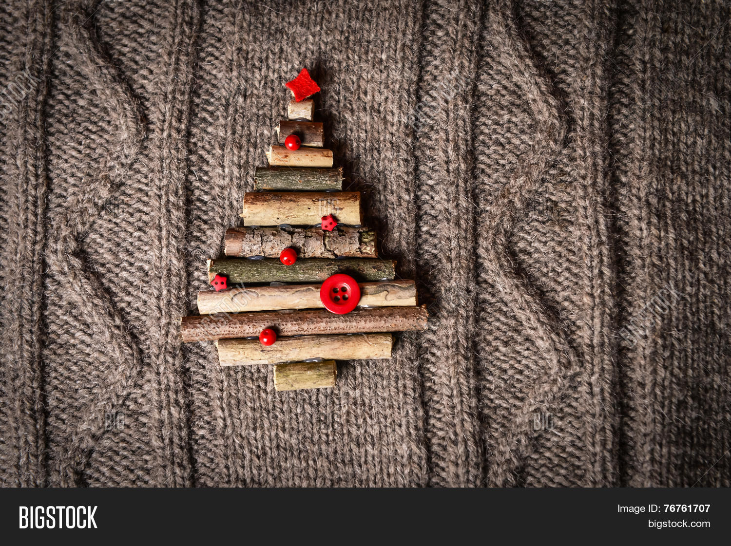 Christmas Warm Knitted Image & Free Trial