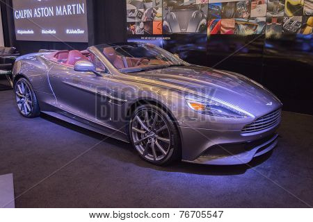 Aston Martin Q Vanquish Convertible On Display