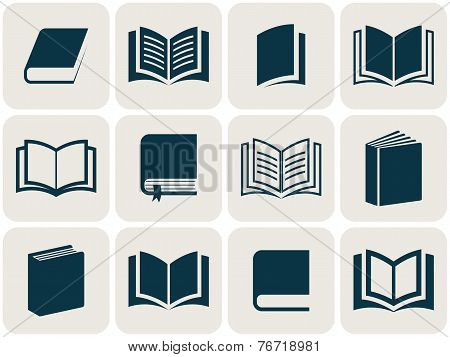 Book Icons Collection