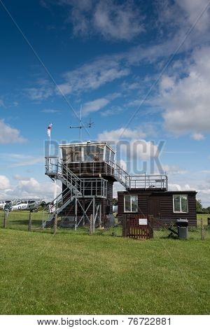 Control Tower At Airfield