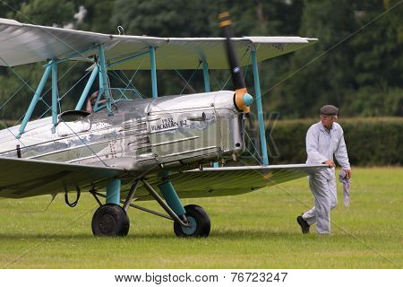 Vintage 1932 Blackburn B2 British Bi-plane