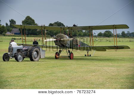 Vintage British Training Aircraft Avro 504K. 1918