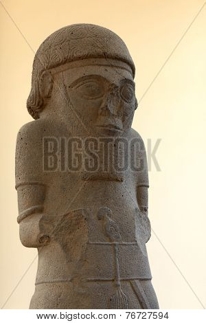 Hittite Statue With Base