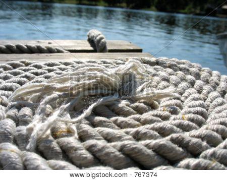 Bridge with rope 2