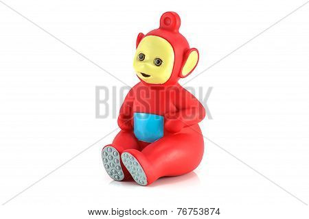 Po The Red Alian Teletubby Character From Teletubbies