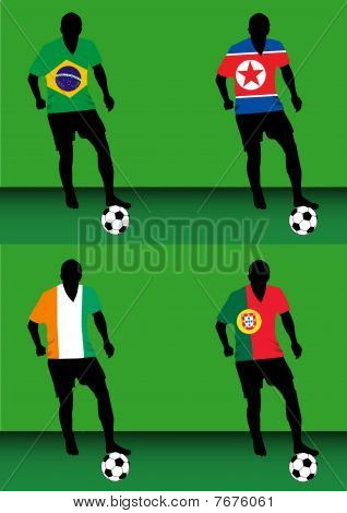 Soccer players - Group G