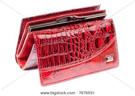 Red Shiny Purse.