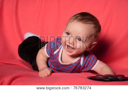 Cute curiose  baby