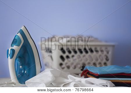 close up of Electric iron