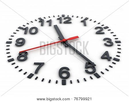 3D Clockface