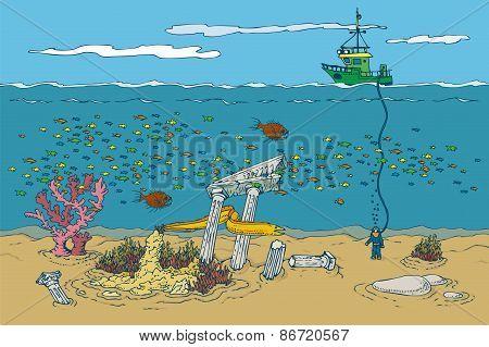 Ocean and Underwater World