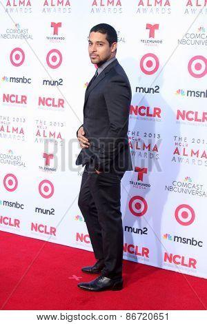 LOS ANGELES - SEP 27:  Wilmer Valderrama at the 2013 ALMA Awards - Arrivals at Pasadena Civic Auditorium on September 27, 2013 in Pasadena, CA