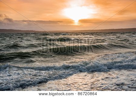 Interesting Pacific Northwest Sunset