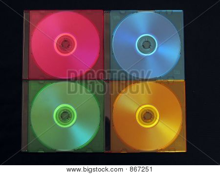 CD, DVD-box
