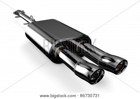 Car Muffler, Exhaust Silencer