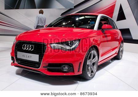 Audi A1 - russische premiere