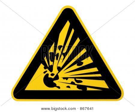 Warning! Explosive!