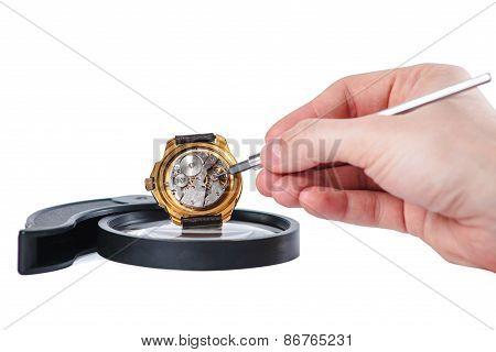 Repairing Clock