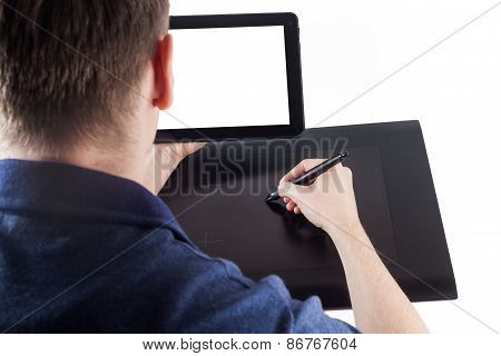 Designer And Graphic Pen Tablet