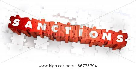 Sanctions - Word on Red Puzzles.