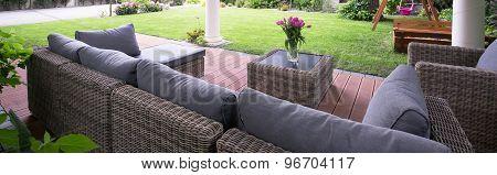 Comfortable Garden Furniture