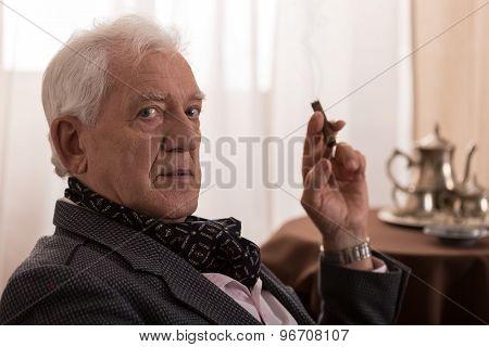 Nostalgic Old Man