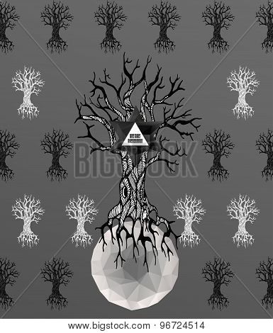 Abstract  gothic