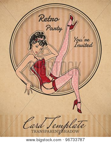 Pin-Up Card
