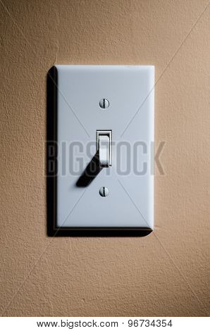Plastic light switch off position